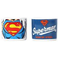 DC Comics Superman Set of 2 Egg Cups