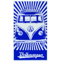 VW Collection Camper Beach Towel - Blue