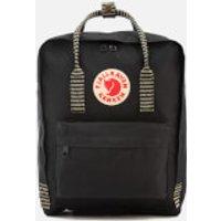 Fjallraven Kanken Backpack - Black/Striped