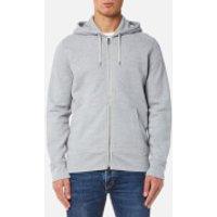 Levis Mens Original Zip Up Hoody 2 - Medium Grey Heather - XXL - Grey