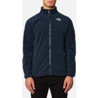 The North Face Mens 100 Glacier Full Zip Fleece Jumper - Urban Navy/Urban Navy - XL - Blue