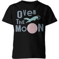 Over the Moon Kids Black T-Shirt - 3-4 Years