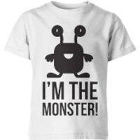 Im the Monster! Kids White T-Shirt - 7-8 Years