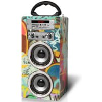 Pure Acoustics MCP-20 Bluetooth Karaoke Speaker (Including Mic) - Grafitti
