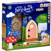 The Irish Fairy Door Company Arched Fairy Door - Pink (Slim)