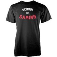 School of Gaming Mens Black T-Shirt - XL