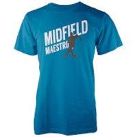 Midfield Maestro Mens Blue T-Shirt - XL