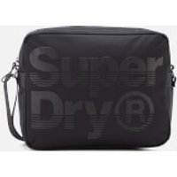 Superdry Mens Premium Lineman Messenger Bag - Black/Black