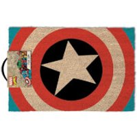 Marvel Captain America Shield Door Mat