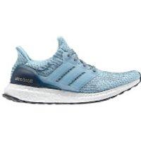 adidas Womens Ultra Boost Running Shoes - Blue - US 7/UK 5.5 - Blue