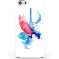 Phone Case - 3D Full Wrap - Plastic - iPhone 6 plus Pigeons of Paris - Blue