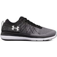 Under Armour Mens Threadborne Fortis Running Shoes - Black/Grey - US 13/UK 12 - Black/Grey