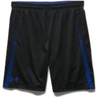 Under Armour Mens Tech Mesh Shorts - Black/Blue - L - Black/Blue