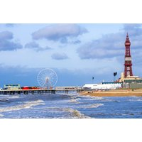 £59 for an overnight Blackpool seafront hotel trip including breakfast, dinner and wine, £89 for two nights, at Garvey's Promenade Hotel