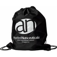 Applied Nutriceuticals Drawstring Sling Bag  Black