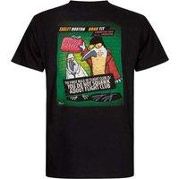 Weird Fish Flight Club Artist T-Shirt Black Size XL