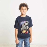 Weird Fish Empire Striped Bass Boy's Artist T-Shirt Carbon Size 5-6