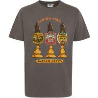Weird Fish Weird Beers Artist T-Shirt Dark Gull Grey Size M