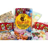 Top 20 Retro Sweets Jar With A andquot;KEEP OUTandquot; Label