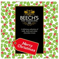 Beechs Merry Christmas Chocolates