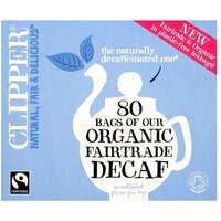 Clipper Organic Decaf 80 Teabags