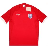 2010-11 England Away Shirt *w/Tags* L