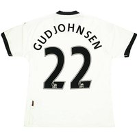 2010-11 Fulham Home Shirt Gudjohnsen #22 (Excellent) Womens (4XL)