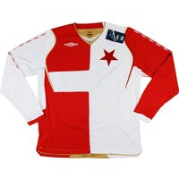 2008-10 Slavia Prague European Home L/S Shirt *BNIB*