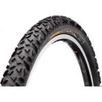 Continental Vapor 26 X 2.1 Inch Black Tyre With Free Tube