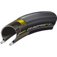 Continental Grand Prix Tt Tyre 700 X 23c Black - Black Chili - Folding With Free Tube