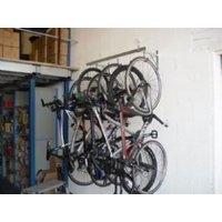 Cyclestore 6 Bike Pro Wall Hanging Rack