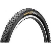 """Continental X-king Racesport 27.5 X 2.2"""" Black Chili Folding Tyre With Free Tubes"""