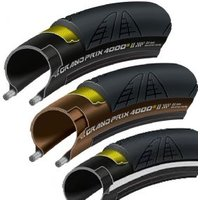 Continental Grand Prix 4000 S Il Black Chili 700c Folding Tyre With Free Tube