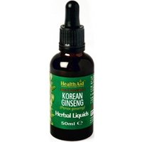 HealthAid Korean Ginseng (Panax ginseng) Liquid 50ml 50ml