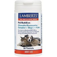 Lamberts Pet Nutrition Chewable Glucosamine Complex for Dogs (and Cats) 90 Tablets