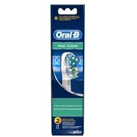 Oral-B Dual Clean Replacement Brush Heads Pack of 4