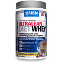 USN Ultralean Diet Whey Powder - 800g Strawberry