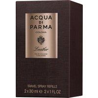Acqua Di Parma Colonia Leather EDC Concentree Travel Spray Refills 2 x 30ml