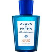 Acqua Di Parma Blu Mediterraneo Arancia Di Capri Relaxing Shower Gel 200ml  Body Wash