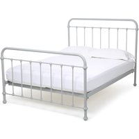 Oliver Bed – Small Double Warm White