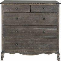 Sienna Grey 5 Drawer Chest
