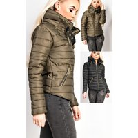 IKRUSH Womens Arlette Quilted Jacket