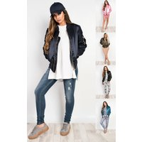 IKRUSH Womens Kylie Bomber Jacket