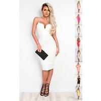 IKRUSH Womens Brynna Bandage Bodycon Dress