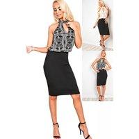 IKRUSH Womens Addison Cut Out Bodycon Dress