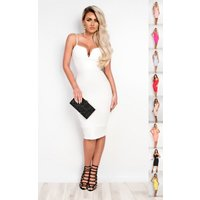 IKRUSH Womens Brynna Bandage Bodycon Dress