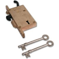 Willenhall G19 Face Fixing Upright Collapsible Gate Lock