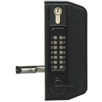 Metal Gate Lock With Combination Keypad Both Sides With Key Override