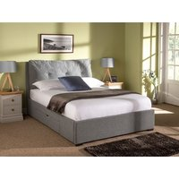 Snuggle Beds Comfy 6' Super King 2 Drawer Fabric Bed