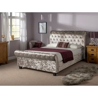 Snuggle Beds Orbiter Taupe 5' King Size Fabric Bed